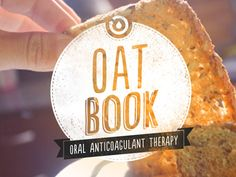 Ingegration of text and image // Oat Book by Rob Cleaton