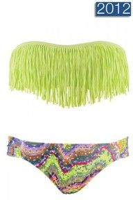 Cute, Indian style bathing suit.