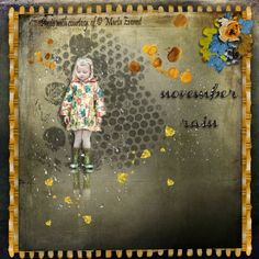 NOVEMBER RAIN  http://scrapbird.com/designers-c-73/d-j-c-73_515/graphic-creations-c-73_515_556/november-rain-by-graphic-creations-p-17023.html Photo: Marta Everest Photography  https://www.facebook.com/MartaEverestPhotography/?fref=ts