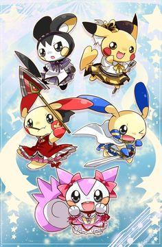 Mahou Shoujo Madoka Magica Pokemon~