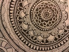 Doodels, Mandala Tuschestift