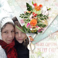 On Magic Christmas by Kasta Gnette    Photo de Caroline Scrap  http://digital-crea.fr/shop/index.php…  Template pack 13 d'Idapassion  http://www.paradisescrap.com/fr/155_idapassion
