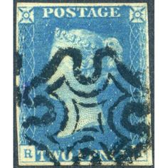 Milky blue 1840 My lovely this! Very rare to seen once. Queen Vic, Postage Stamps, Empire, Classic, Blue, Stamps, Derby, Classic Books