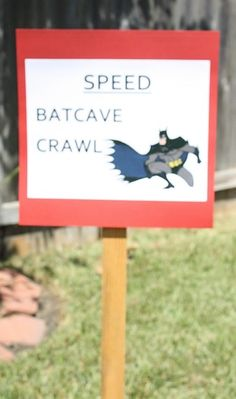 Superhero Birthday Party Ideas | Photo 26 of 53 | Catch My Party