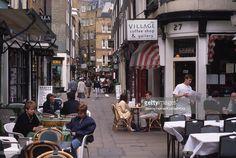 Stock Photo : Cafes in Shepherd Market