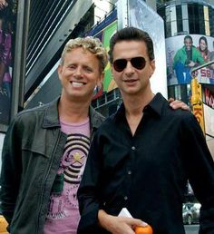 Dave Gahan & Martin Gore of Depeche Mode | I will take either one (or both, no big deal).