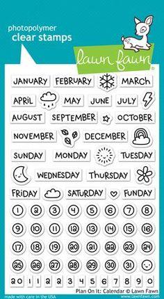 plan on it: calendar