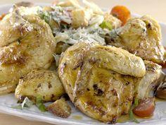Get Roasted Chicken Cacciatore Recipe from Giada De Laurentiis, Food Network Giada De Laurentiis, Giada Recipes, Dinner Recipes, Cooking Recipes, Healthy Recipes, Healthy Meals, Dinner Ideas, Chicken Fennel, Roasted Chicken