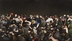 13 Hyperrealistic Mosh Pit Paintings That Will Leave You Gasping For Air