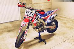 HONDA CR-F 450 Supermoto | DERESTRICTED