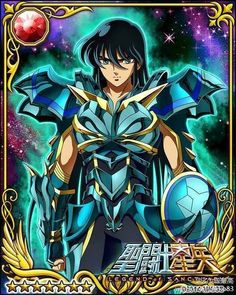 Dragon Shiryu 1 Galaxy Cards version Saint Seiya Legend of Sanctuary