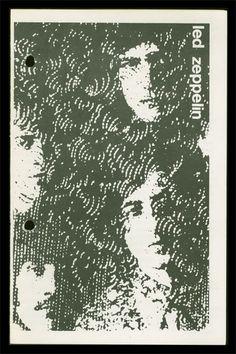 led zeplin, 1969 program flyers