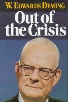 Out of the Crisis, By W. Edwards Deming |  This book looks at two of the central issues - quality control and productivity - facing industry (whether manufacturing or service industry) and considers the practical responses that management should take. Dr Deming has had a major role in establishing statistical techniques of quality control, and is widely recognised by the Japanese for his work in helping them achieve their enviable reputation for high quality goods. The book provides a full…