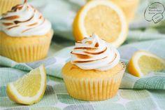Zitronen-Baiser-Cupcakes