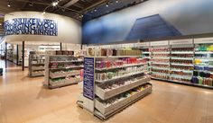 DekaMarkt World of Food store by Twelve Studio, Netherlands groceries food