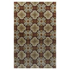 I pinned this Reims Rug in Chocolate from the Bashian Designs event at Joss and Main!