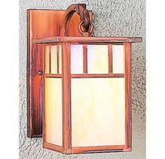 Arroyo Craftsman HB-4L Craftsman / Mission Down Lighting Wall Sconce from the Huntington Collection