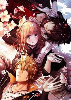 Shin,Toma,Heroine - Amnesia,Anime