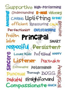 Boss's Day Principal Subway Art - Information Principal Appreciation, Principal Gifts, Assistant Principal, Appreciation Quotes, Teacher Appreciation Week, Teacher Gifts, Principal Retirement, Principal Ideas, Retirement Ideas