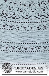 Bibliothèque de points DROPS: Points Crochet
