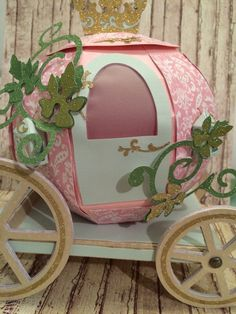 Princess Coach by PattyPapercuts on Etsy