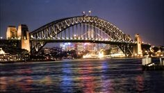 You can climb to the top of this bridge in Sydney, Australia...totally on my bucket list!