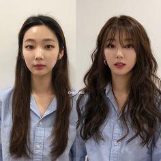 Korean Long Hair, Korean Hair Color, Korean Haircut Long, Hair Korean Style, Haircuts Straight Hair, Long Hair Cuts, Medium Hair Styles, Curly Hair Styles, Cut My Hair