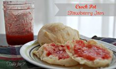 Crock Pot Slow Cooker Strawberry Jam