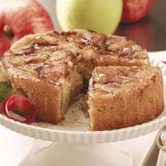 Recipes legend : Cinnamon-Apple Cake--will be able to make 2 in air fryer, maybe??!!