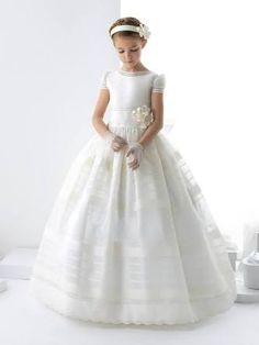 Resultado de imagen para vestidos de primera comunión para niñas de 12 años