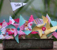 Decorar tu fiesta con molinillos de papel (parte 2) | La Decoración de mis mesas