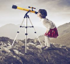 Kids Stock Photos And Images Science Activities, Activities For Kids, Space Travel, Science Education, Science For Kids, Telescope, Videos, Google, Travel Photography