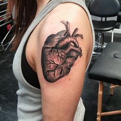 35 Trending Anatomical Heart Tattoo Designs - For Men & Women