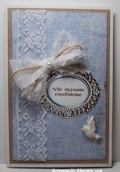 Kondolansekort Begravelse Condolences, Cardmaking, Card Ideas, Greeting Cards, Decorations, Guys, Frame, Die Cutting, Stamping