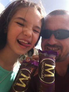 Icecream with my dad
