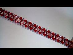 Bracelet: easy tutorial. DIY. Браслет. Простой узор - YouTube