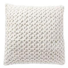 Lattice Knit Pillow Cover, 24