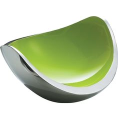 Corbeille à fruits Ninnananna - Fini inox/vert My Own Private Idaho, Sweet Home Alabama, Simple Lines, My Favorite Color, Cool Kitchens, Lime, Cool Stuff, Green, Kitchen Stuff