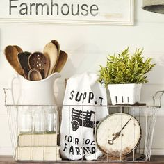 Finally Friday! I know y'all live for the weekends just like I do! I have so many new followers which is exciting!!! So how about a Friday question? What state do you call home? I am a Missouri girl!  Also, have you posted your photo for #farmchicfriday where we want to see how you capture the essence of your farmhouse-chic baking/cooking areas?  What about #loveyourdwellingplace where we want to see how you decorate those gorgeous ladders that I know so many of you have!  A big shout out…