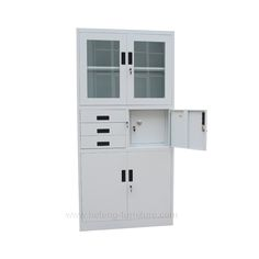 cabinet with doors and drawers - Luoyang Hefeng Furniture Air Ventilation, Luoyang, Cabinet Doors, Locker Storage, Drawers, School, Furniture, Home Decor, Decoration Home