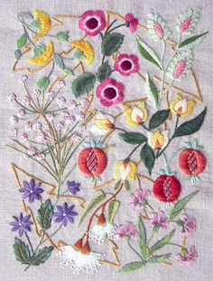 Pretty Surface Embroidery Kits