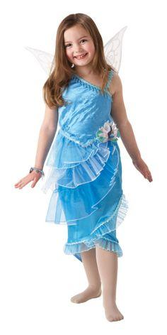 Kids Silvermist Costume Small 3-4 Years Fancy Dress Disney | eBay