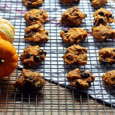 Pumpkin Chocolate Chip cookies are full of yummy pumpkin flavor, gooey chocolate chips, and the spices of fall. Easy to make. But watch out, they will go fast!