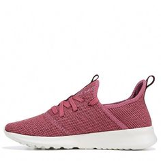 Adidas Women's Cloudfoam Pure Sneakers (Purple/Maroon) #Sneakers Knit Shoes, Athleisure Fashion, Cute Shoes, Adidas Women, Sneakers Fashion, Nike Free, Adidas Sneakers, Pure Products, Purple