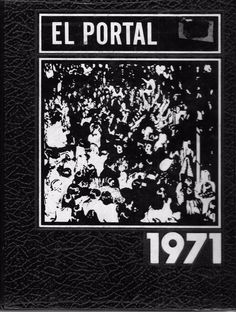 1971  TRACY UNION HIGH SCHOOL YEAR BOOK, TRACY, CALIFORNIA EL PORTAL HARDCOVER