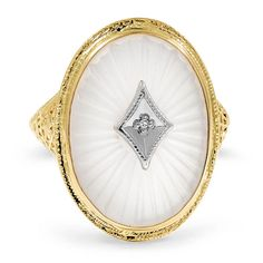 10K Yellow Gold The Carmela Ring from Brilliant Earth, $985.