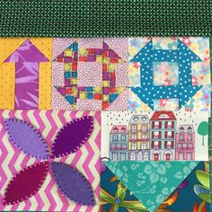 Wendy's quilts and more: My Small World - the second attempt