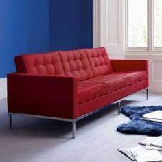 Florence Knoll. Perfect sofa.