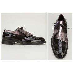 Men's Fashion - Vivienne Westwood 'Fringed Brogue'.  These are just amazing.