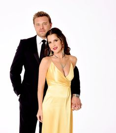 General Hospital's Billy Miller & Kelly Monaco As Jason And Sam Morgan